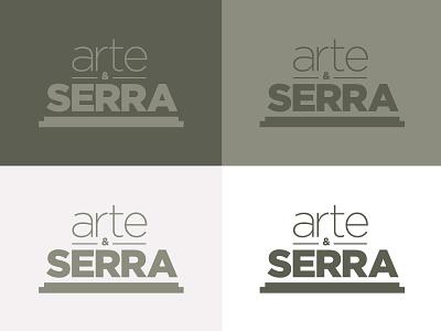 Arte Serra  portugal logotype logo graphic design branding brand