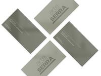 Buisness card - Arte & Serra