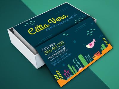 Catia Vera - Brand  portugal logotype logoty logo business card logo design branding brand
