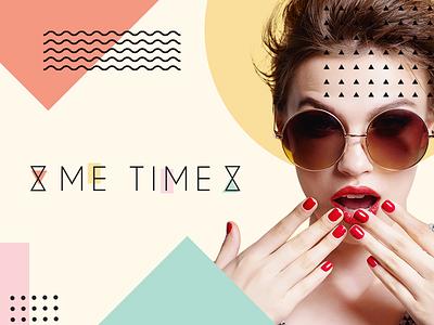 Me Time   Branding graphic design design creativity portugal logotype branding logo brand