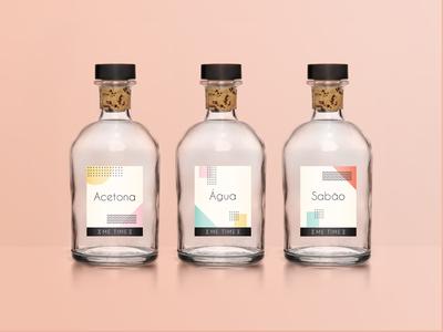 Me Time - Bottles Labels