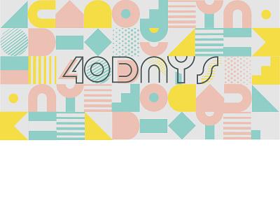 Branding for a blog logo design vector typography illustration brand design branding memphis style memphis pattern