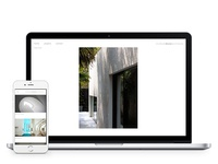 Architects' portfolio website