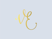 Monogram logo for a make-up artist