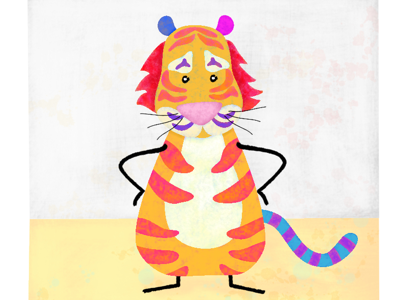 Stichy Tiger without Stiches