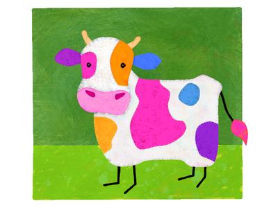 Stichy Cow White