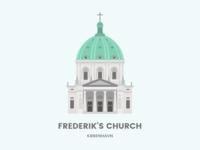 Frederik's church - Copenhagen