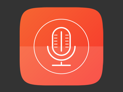 Suru Icon Microphone App app microphone ubuntu icon suru
