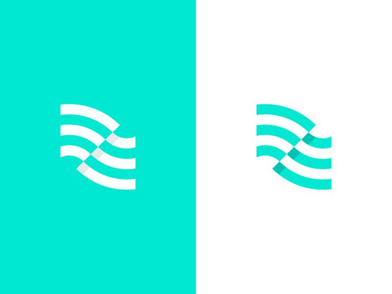 Airtime Rewards fintech logotype logo design brand identity green mint green mint wifi flag logomark typography icon vector branding logo illustration jbdotco fortnight fffabs