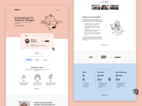 offpaper Landing Page