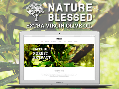 Nature Blessed web design wordpress user experience ux responsive web design site website