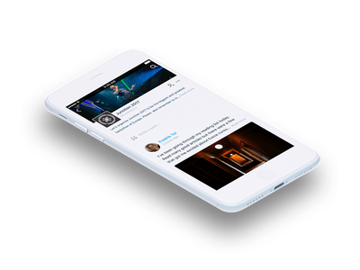 Hubchat iOS user experience user interface ux ui app application community ios