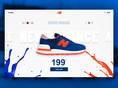 New Balance Sneakers free sketch file free clean ui ecommerce product card web sketch modern sneakers new balance