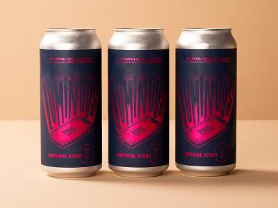 Luminous Cave! cave beer label design craftbeer beer label beer can beer