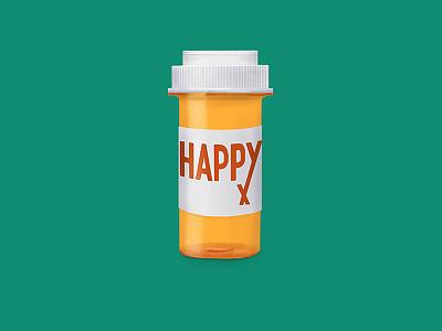 Need a Refill digital illustration pills happy procreate happy pills