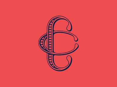 CC Monogram custom type cc monogram