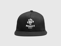 Monkey Mind logo & cap