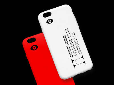 The Anonymous Project Brand Collateral homeless incognito anonymous identity mark fashion brutalism eye phone case phone icon typography minimal branding logo