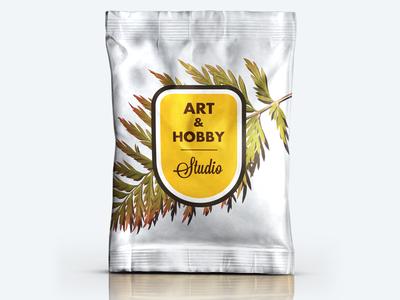 Art & Hobby Studio Logo Mark