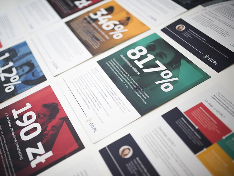 The folders folder flat print a4 brochure percent infographic business b2b