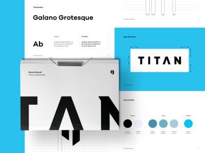 Titan Brand Book Elements
