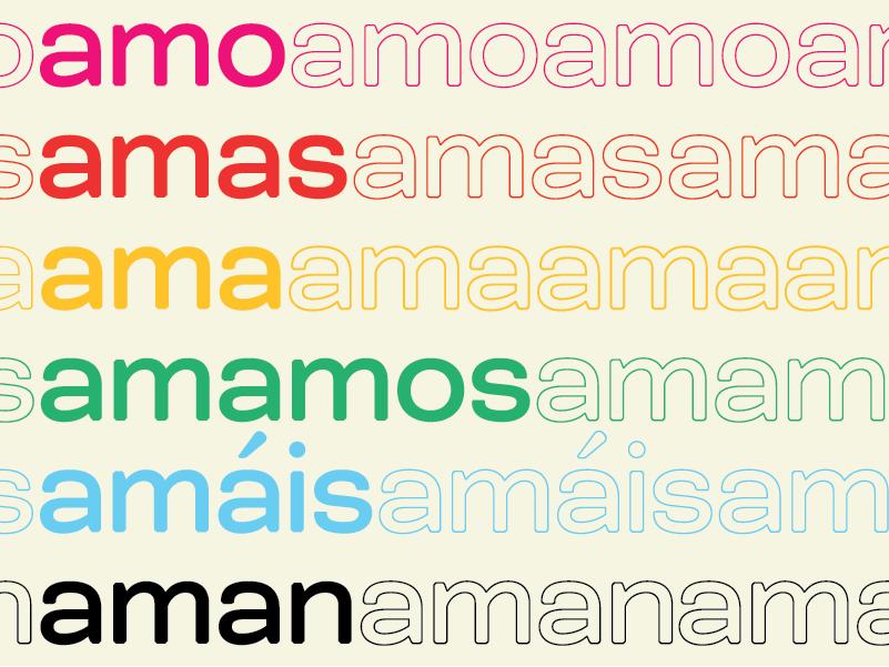Happy Pride! spanish rainbow layout design pride 2019 pride month love amar bicyclette type typography graphicdesign pride