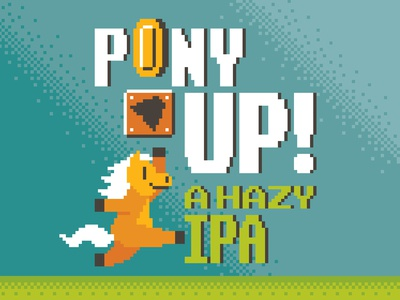 8-bit Pony Up