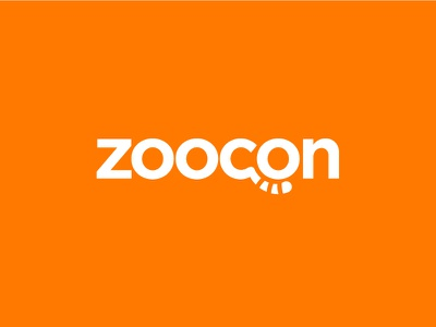 Zoocon logo cute tail sale forsale icons line glyph animal zoo