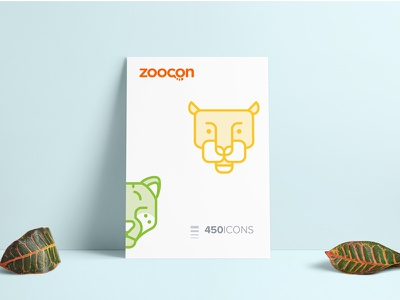 Zoocon zoo wolf creativemarket pit bull line icons haskey glyph forsale cute eagle animal