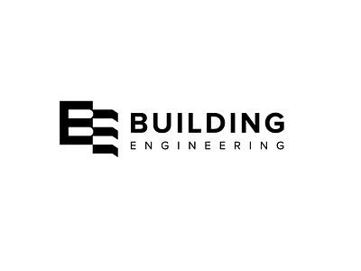 Builing Enginering logo sale icons engineering black  white logo building