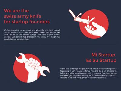 HF website illustrations