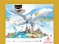 Affiche 4x3 Agence de voyage Ataqwa