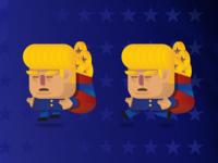 Donald Trump game character