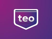 Logo branding TEO