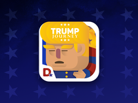 Trump Journey icon mobile game