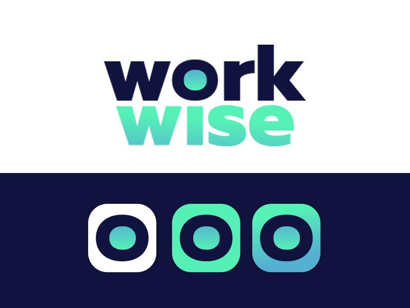 WORKWISE - new born it recruitment agency @Morocco mobile app icon branding morocco it recruitment agency company work wise