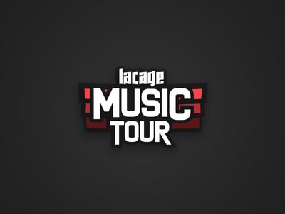 LACAGE MUSIC TOUR LOGO logo lacage music tour