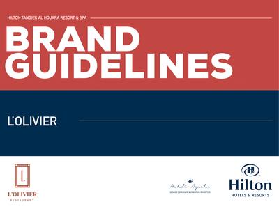 L'OLIVIER brand guidelines restaurant branding restaurant logo branding agency branding and identity logotypedesign logotype branding design branding brand guidelines