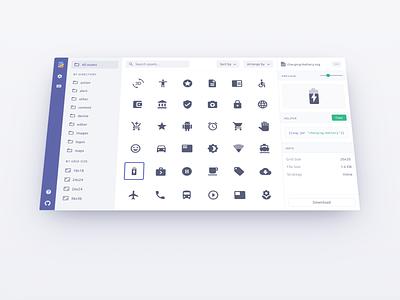 SVG Jar UI vector minimal website flat app web ui