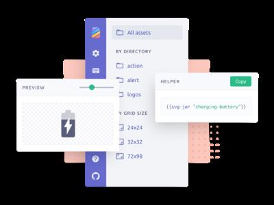 UI parts for a web app