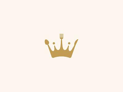 KingResto cafe restaurant meal eat fancy crown resto king logo design design logo