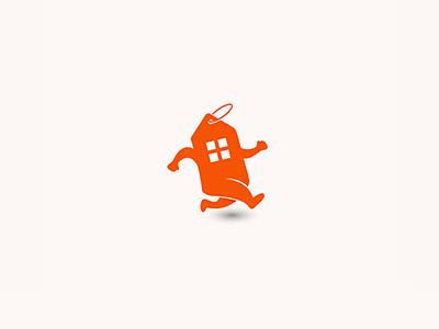 Movingsale house home branding illustration icon logodesign design logo