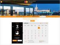 Mastercard Priceless Booking