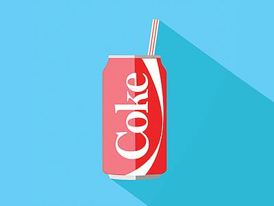 Coca Cola coke drink cocacola illustration graphic