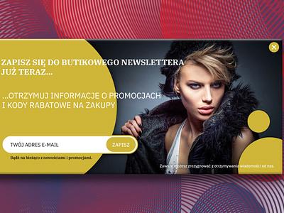 Newsletter design ui lettering flat typography type vector mailing website branding design newsletter