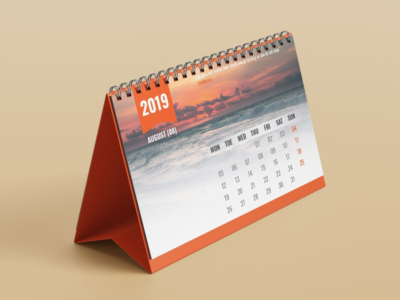 Calendar Design typography type design calendar