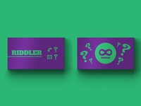 Riddler Business Card - Weekly Warm-Up vol. 2