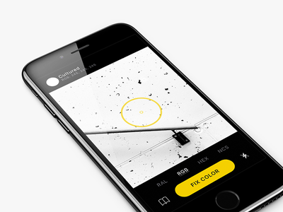Simple App For Painter painter iphone mobile ui color camera ios