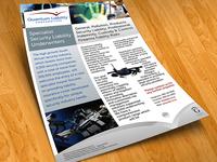 Quantum Liability Underwriters Leaflet Design