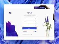 SignUp Concept Xchangewise